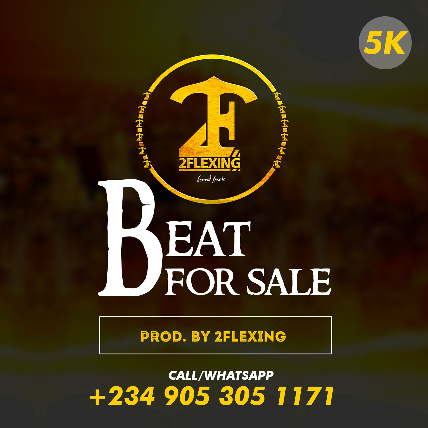 Beat For Sale: BeatSales Series 2 (Prod By 2Flexing) | @real2flexing