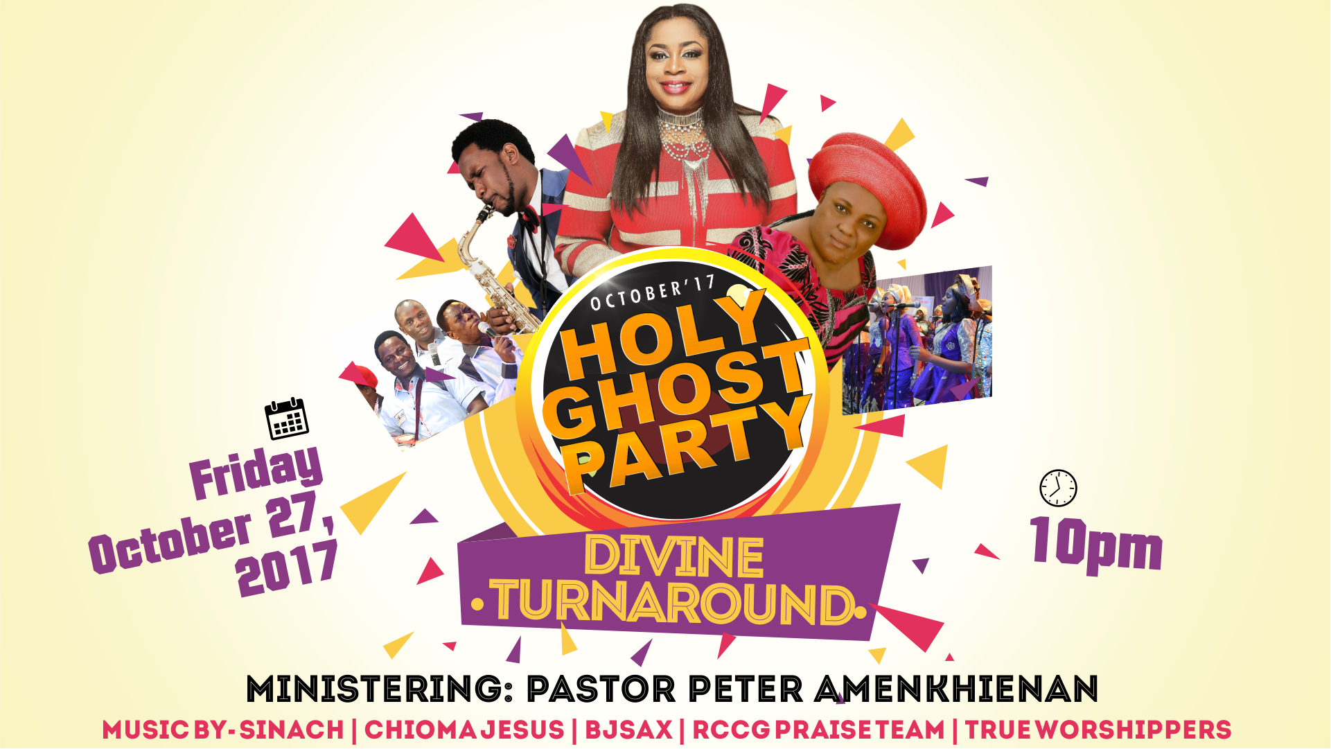 NJW Advert: SINACH HEADLINES RCCG TOD LP 46 HOLY GHOST PARTY @todhouseoffavor | @Proudly_Gospel OCTOBER EDITION